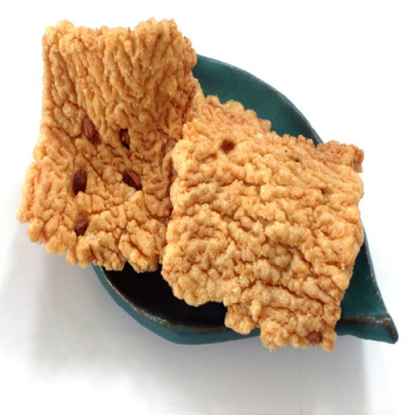画像1: 米匠堂揚げおかき徳用黒砂糖170g10袋入-福井名物-越前の味と心うまいもの大好き! (1)