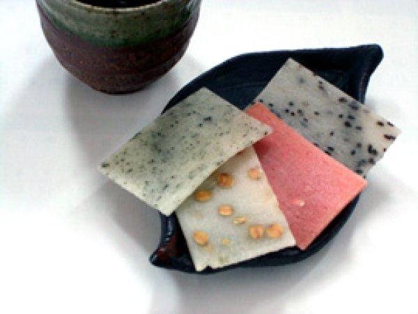 画像1: 越前生かきもち4種入-福井名物-越前の味と心うまいもの大好き (1)