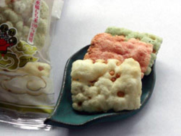 画像1: 米匠堂浮雷餅130g10袋箱入-越前の味と心うまいもの大好き (1)